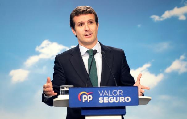"""Casado vuelve a llamar """"derecha radical"""" a Vox y peligra el presupuesto andaluz."""