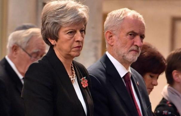 Theresa May y Jeremy Corbyn
