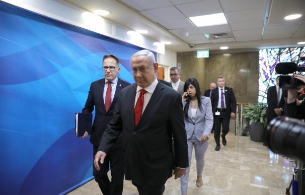 Benjamin Netanyahu pretende blindarse constitucionalmente por los casos de corrupción