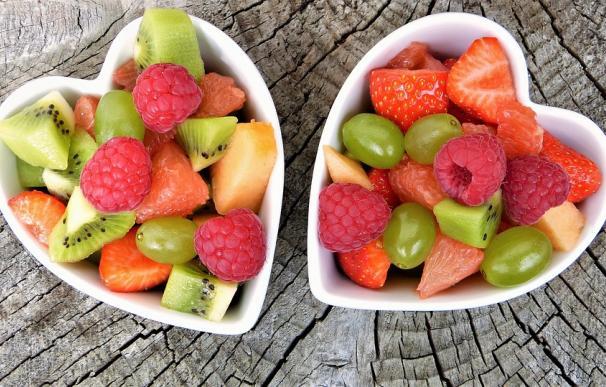 La fruta forma parte de una alimentación saludable