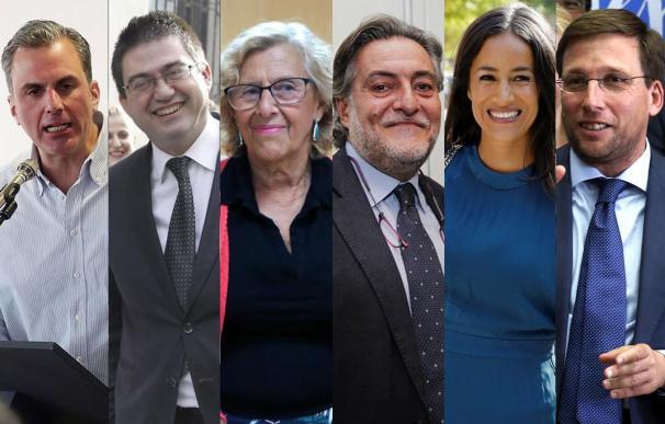 Candidatos elecciones municipales de madrid 2019