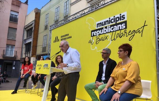 "Maragall (ERC) asegura que están cambiando una inercia de voto: ""Pedro, no nos vais a parar"""