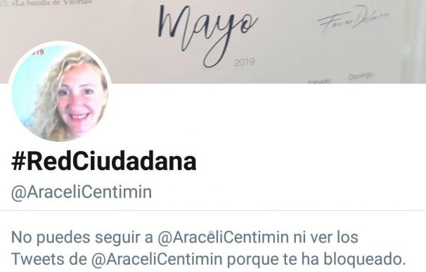¿Quién es Araceli? La mujer que practica el bloqueo masivo a cuentas de Twitter
