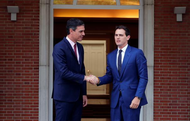 Sánchez y Rivera este martes en La Moncloa