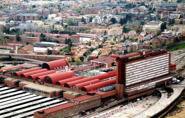 Fotografía aérea Estación de Chamartín / ADIF