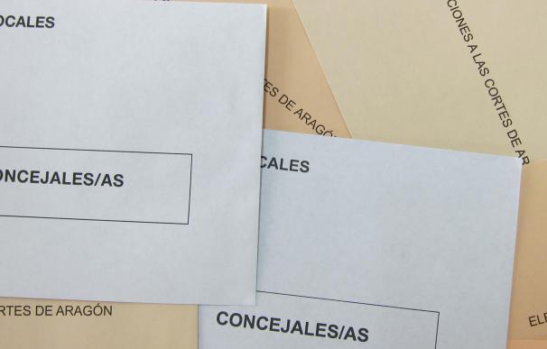 Elecciones municipales y autonómicas 2015. Sobres, papeletas electorales