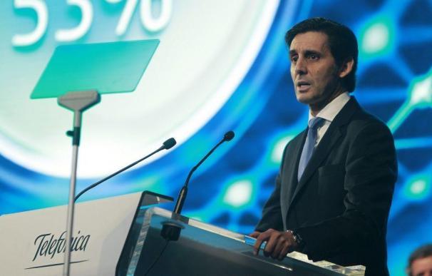 El presidente de Telefónica, José María Álvarez-Pallete. EFE
