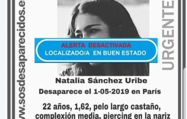 Encuentran a Natalia