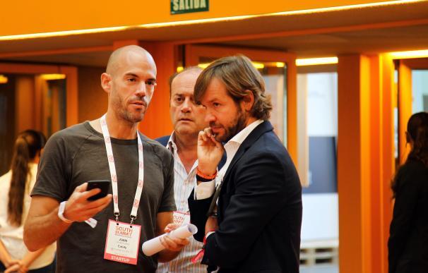Juan de Antonio (Cabify) junto a Rosauro Varo