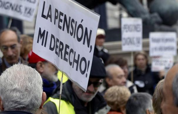Fotografía pensiones dignas / EFE