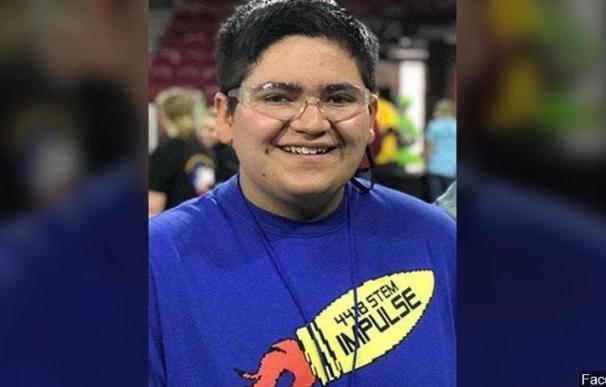 Fotografía de Kendrick Castillo, fallecido en el tiroteo en Colorado.