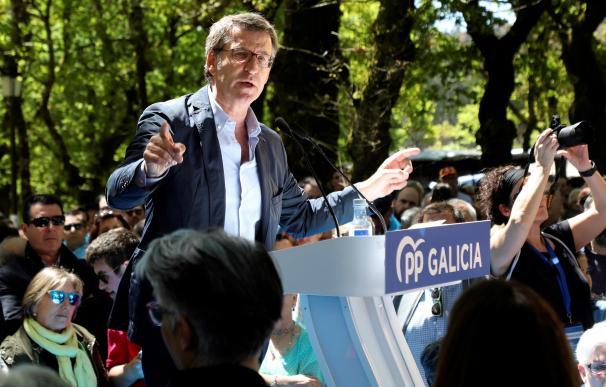 """Feijóo carga contra Casado y el resultado """"muy grave"""" que obtuvo el partido el 28A."""