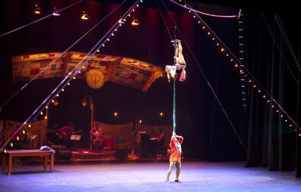El circo, protagonista de la penúltima cita del Festival Puerta al Mediterráneo en Mora de Rubielos (Teruel)