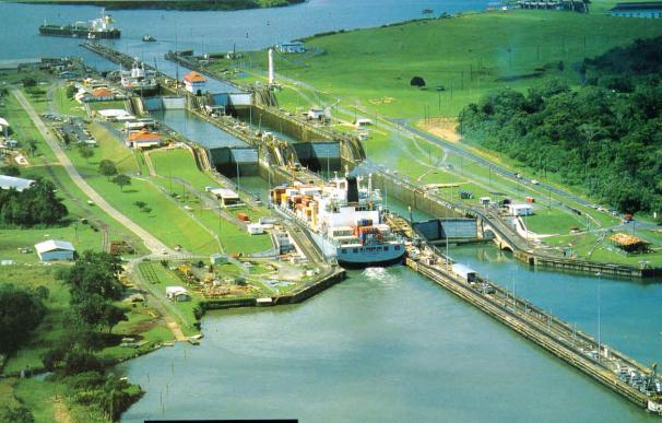 Fotografía del Canal de Panamá