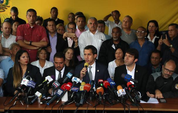 El presidente de la Asamblea Nacional de Venezuela, Juan Guaidó. /EFE