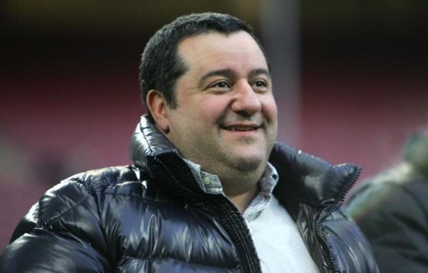 El agente de futbolistas Mino Raiola. /EFE