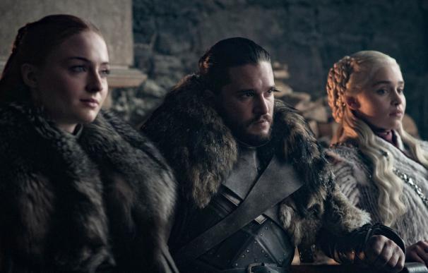 Sansa Stark, Jon Snow y Daenerys Targarien