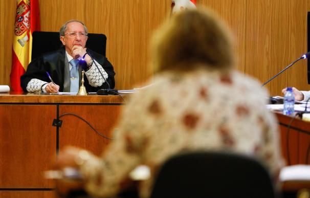 Sesión de juicio por la muerte de la pequeña Sara