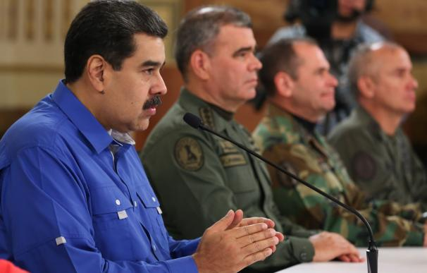 Nicolás Maduro bolo