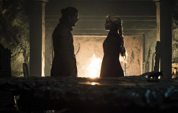 Jon Nieve y su amor por Daenerys