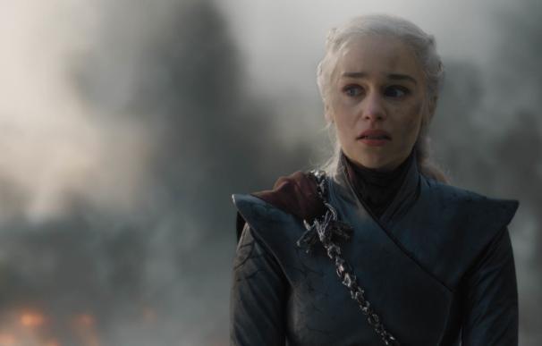 Fotografía de Daenerys Targaryen, interpretada por Emilia Clarke en 'Juego de Tronos'.
