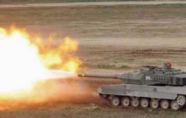 Defensa compra en Israel proyectiles para los tanques Leopard por 3 millones