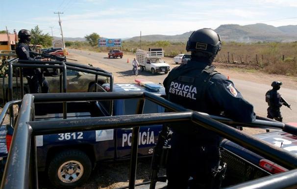 Fotografía de la policía de México.