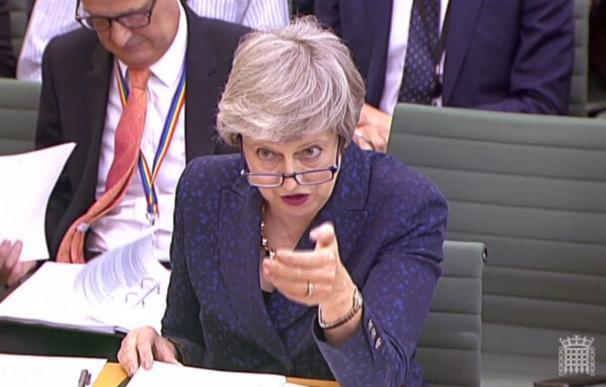 Theresa May, ante un nuevo test sobre el Brexit
