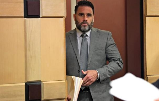 Pablo Ibar, durante el juicio en EEUU