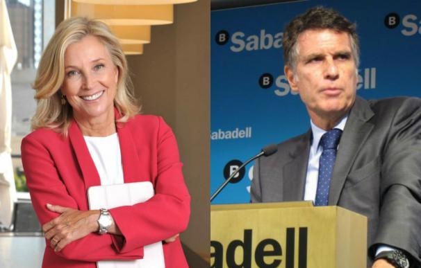 Dancausa y Guardiola, consejeros delegados de Bankinter y Sabadell.