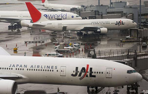Fotografía aviones en el Aeropuerto de Tokio / EFE