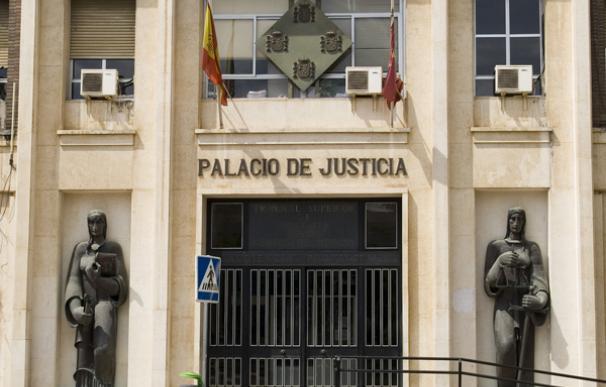 Imagen del Palacio de Justicia de Murcia. / EFE