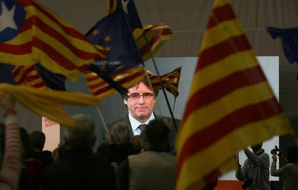 El expresident de Cataluña, Carles Puigdemont. /Jaume Sellart   EFE