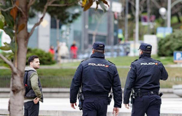 Dispositivo especial de seguridad por la jornada electoral del 26-M. /Europa Press
