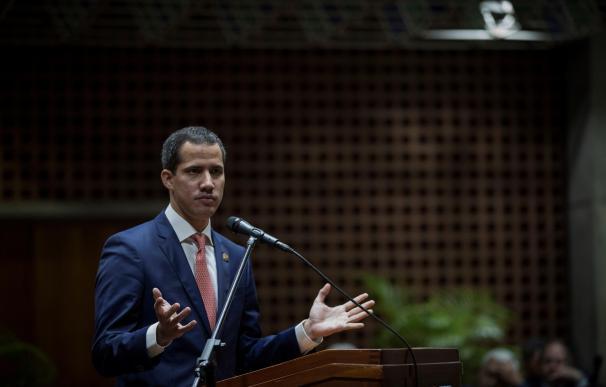 El jefe del Parlamento venezolano, Juan Guaidó, reconocido por más de 50 países como presidente interino. /EFE