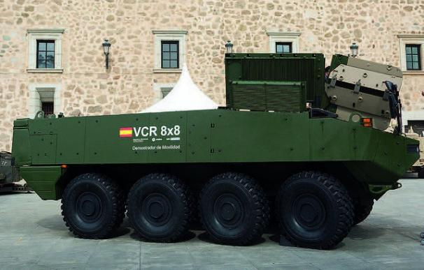 Demostrador del vehículo 8x8 del Ejército de Tierra