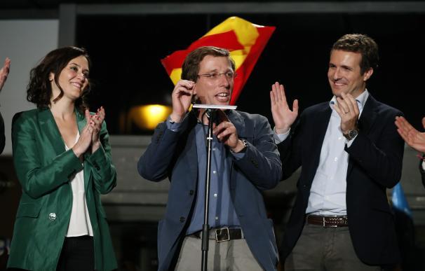 Almeida asegura que hablará con Villacís y Smith para formar gobierno en Madrid