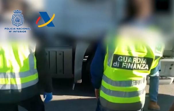 Operación en el Puerto de Barcelona