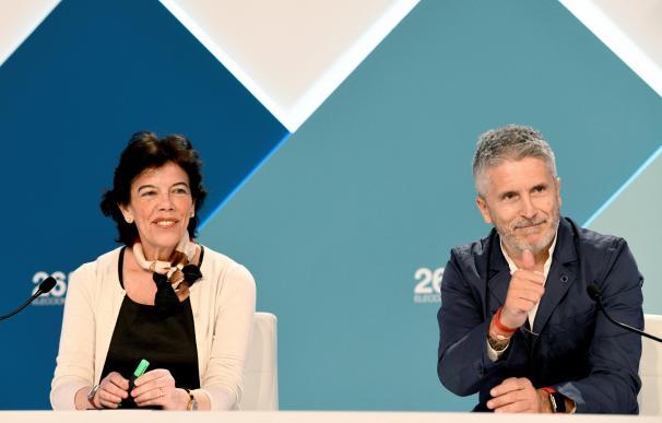 Isabel Celaá y Fernando Grande Marlaska