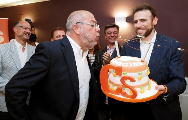 Paco Igea, tras conocer los resultados electorales del 26-M. EFE