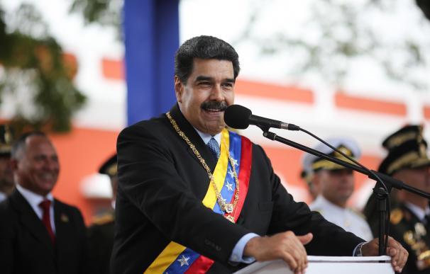 Nicolás Maduro en un acto en Ciudad Bolívar