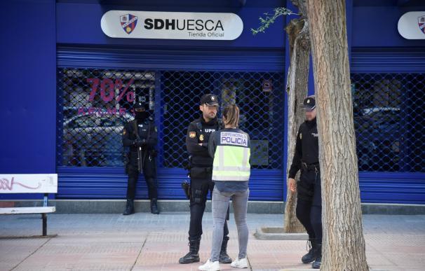 Policía Nacional registra la sede del Huesca por presunto amaño de partidos