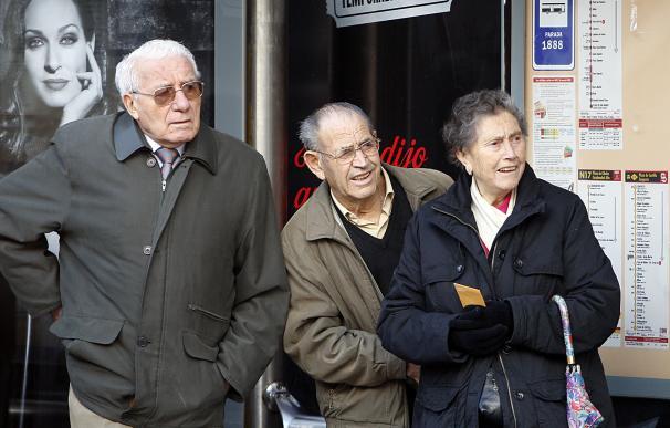 Gente mayor, jubilados