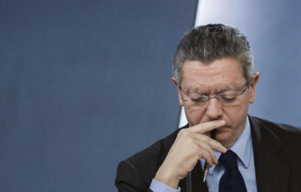 El exministro de Justicia Alberto Ruiz-Gallardón. EFE