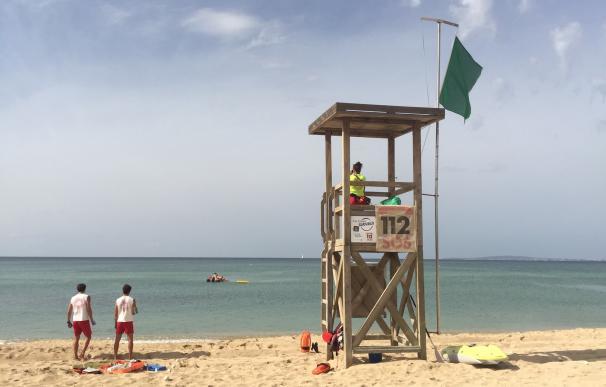 La temporada de playa en Palma empieza este miércoles con los servicios habituales de vigilancia y socorrismo