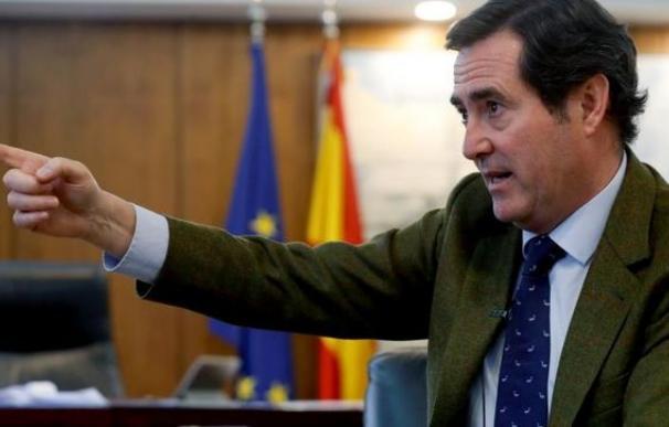 Antonio Garamendi, presidente de CEOE / EFE