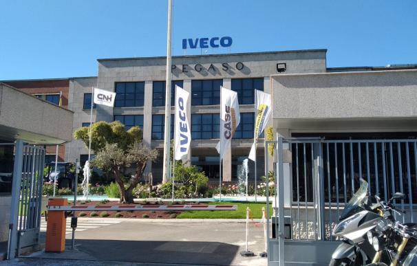 Entrada de la fábrica de Iveco en San Fernando (Madrid)