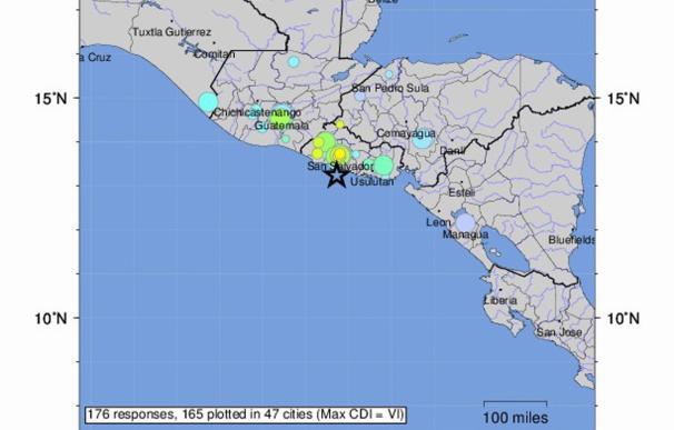 Un terremoto de magnitud 6,8 sacude El Salvador y provoca una alerta de tsunami