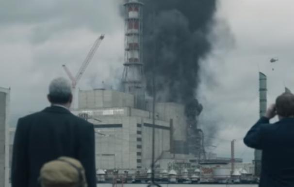 Imagen de una escena de la miniserie 'Chernobyl'. / HBO