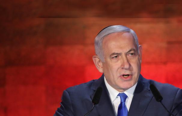 Benjamin Netanyahu horizontal